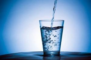 Een glas water…