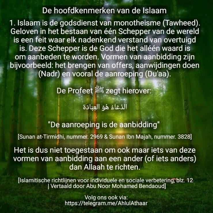 kenmerken van de islam